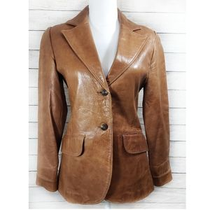Vintage The Sandalmakers Los Gatos Leather Jacket